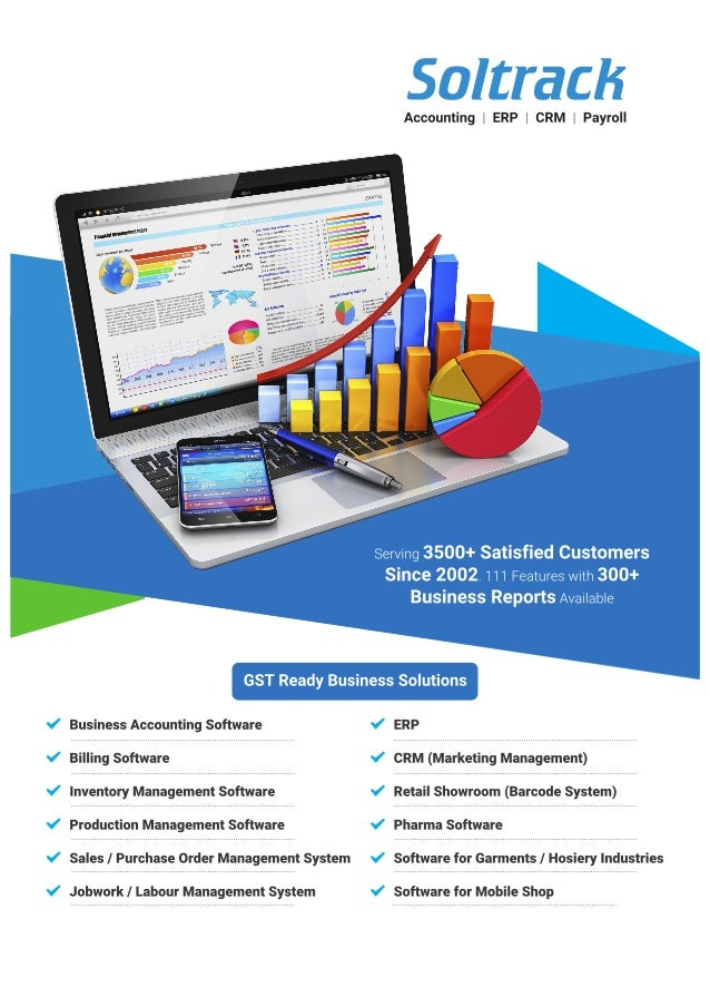 ERP And CRM Software By Soltrack Technologies Private Limited