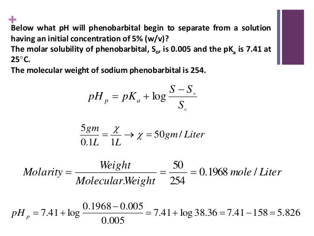 Solubility (Physical Pharmacy)