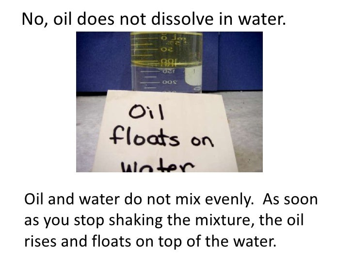 Solubility A Physical Property Teach