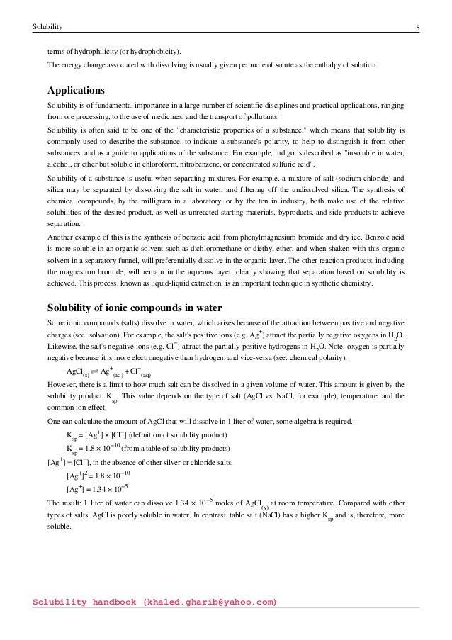 Solubility Handbook By Khaled Gharib