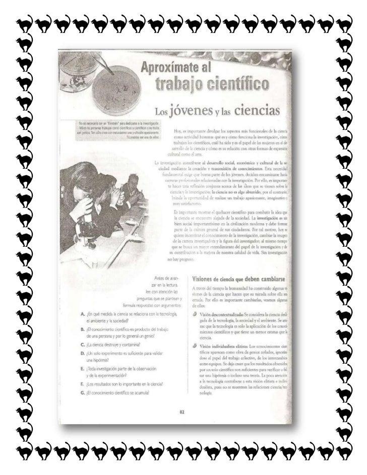 Solución del trabajo científico1. ¿En qué medida de la ciencia se relaciona con la  tecnología, el ambiente y la sociedad?...