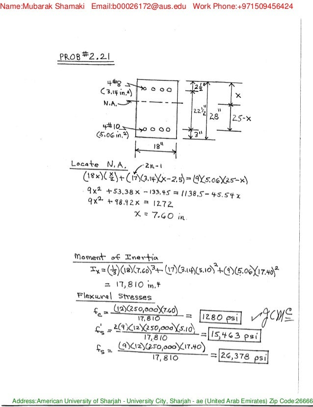 solucionario design of reinforced concrete 8th ed by mccormac brown rh slideshare net