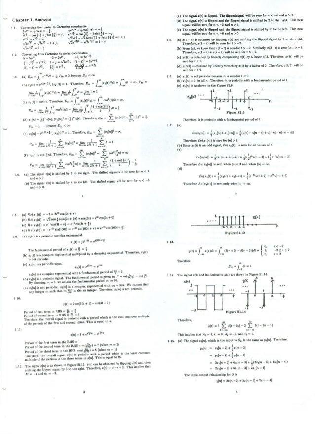 Chapter 1 Answers  11  1.4.  19.  1 10.  1.11.  1.12.  =  cosn! - .  e =  —r : -  Ci! );v'ertin§£5omP°l; lt0ClflBil¥l= _t':...