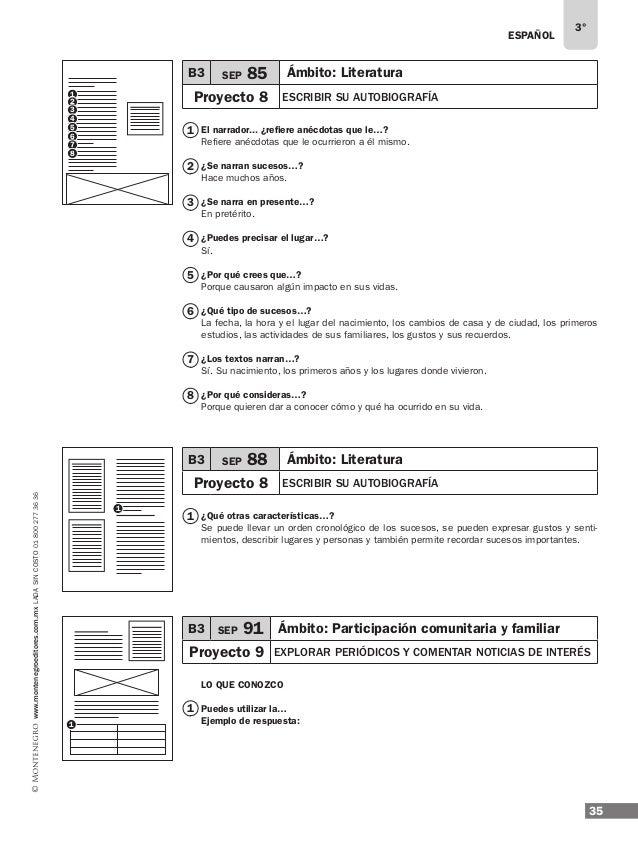 Solucionario 3 grado de Libros de Texto