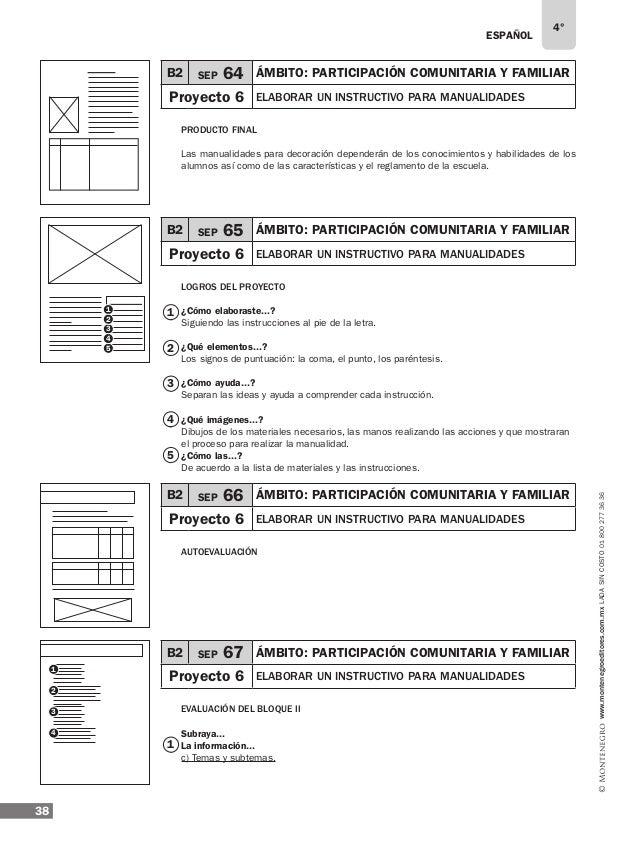 40 www.montenegroeditores.com.mxladasincosto018002773636 5 6 7 8 Bloque 03 LO QUE CONOZCO Ejemplos de respuesta: ¿Has vist...