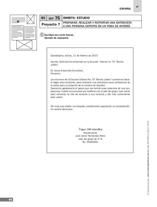 ESPAÑOL 46 4° www.montenegroeditores.com.mxladasincosto018002773636 B3 SEP 79 ÁMBITO: Estudio Proyecto 7 preparar, REALIZA...