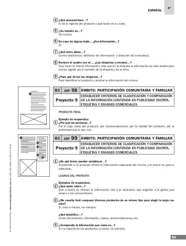 55 www.montenegroeditores.com.mxladasincosto018002773636 2 1 3 4 5 B4 SEP 102 ÁMBITO: estudio Proyecto 10 rearmar un artíc...