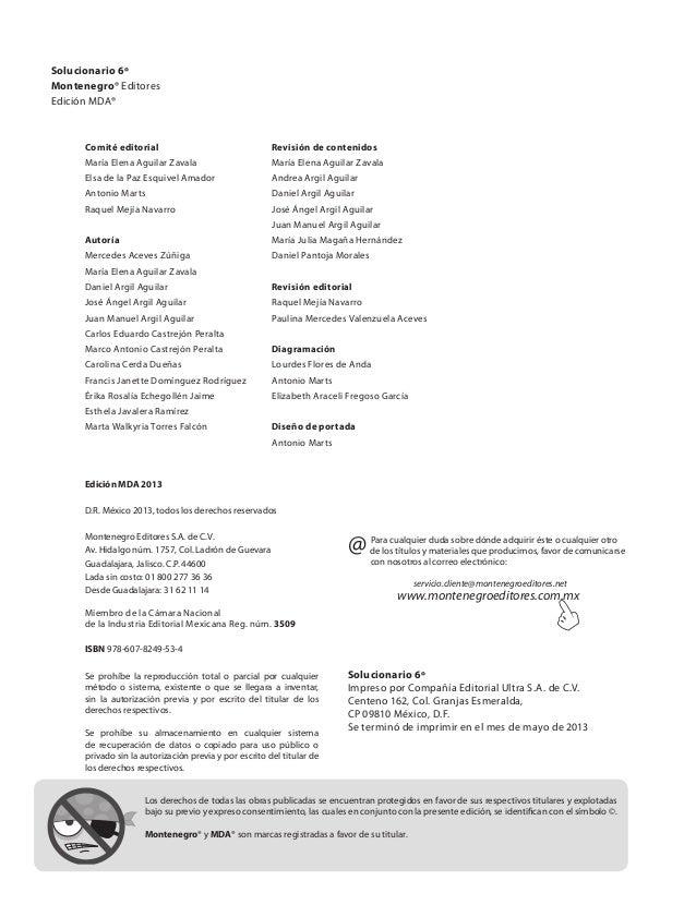 Solucionario 6  GRADO DE PRIMARIA Slide 2
