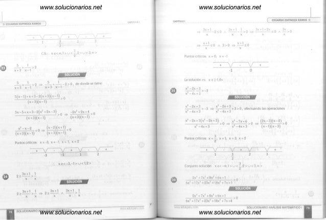 Analisis matematico 2 eduardo espinoza ramos descargar pdf