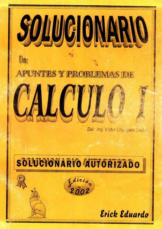 libro calculo 1 victor chungara