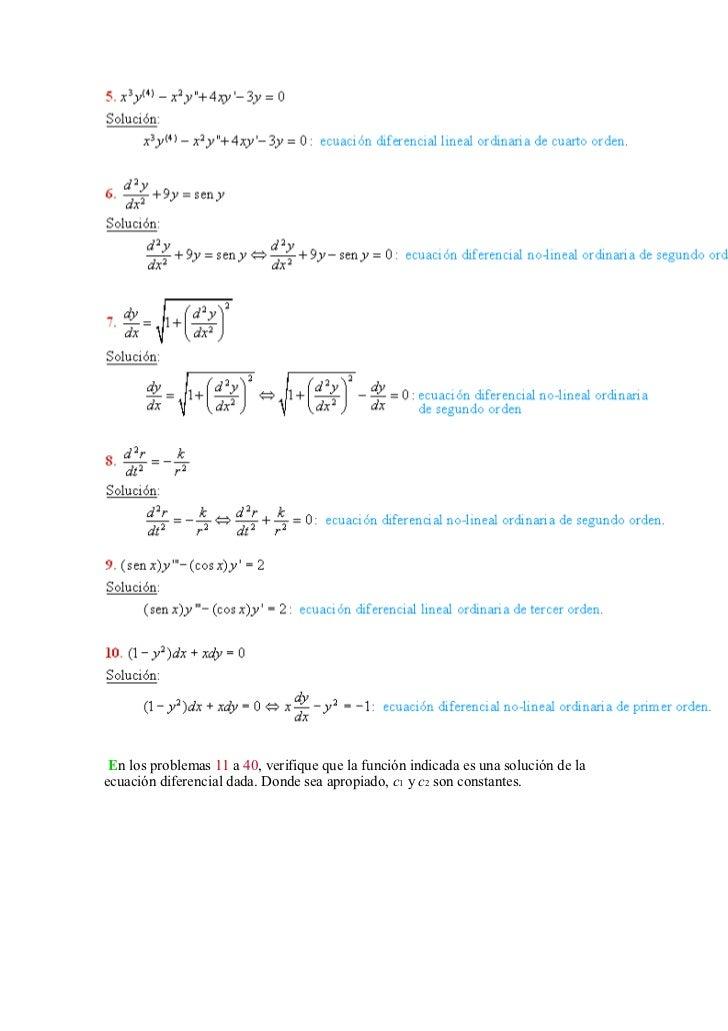 Solucionario de dennis g zill   ecuaciones diferenciales Slide 2