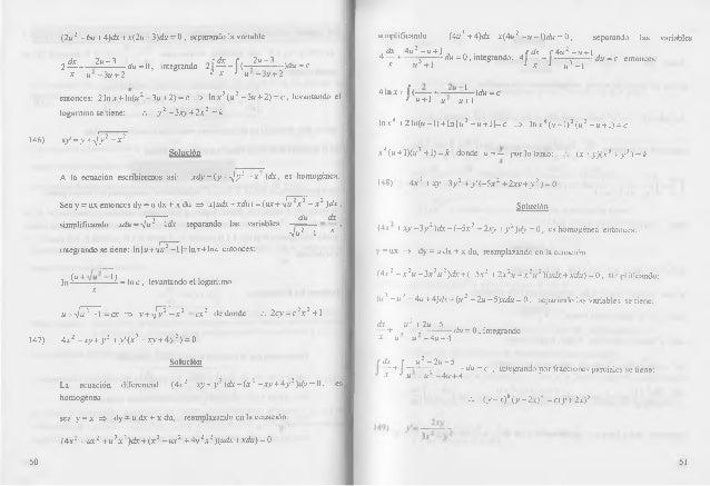 solucionario ecuaciones diferenciales nagle 4 edicion