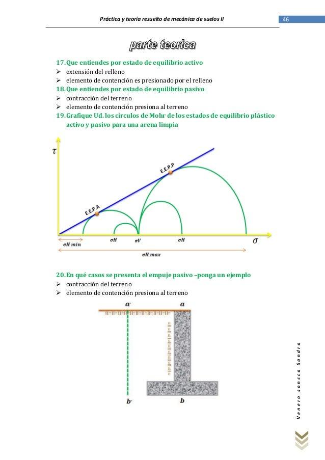 Solucionario de los exámenes de mecánica de suelos II