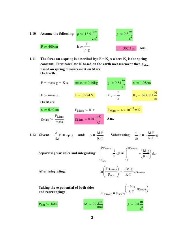 Solucionario Introducción a la Termodinamica en Ingeniería Química: Smith, Van Ness & Abbott  Slide 2