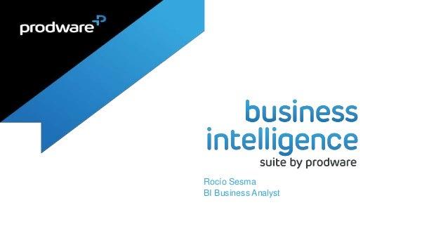 Rocío Sesma BI Business Analyst