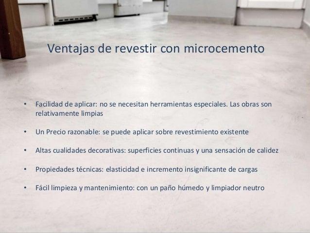 Soluciones de microcemento topciment para cada superficie - Precio de microcemento ...