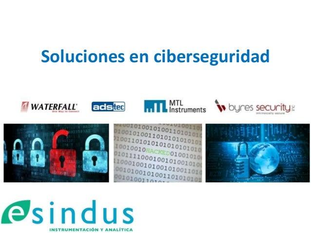 Soluciones en ciberseguridad