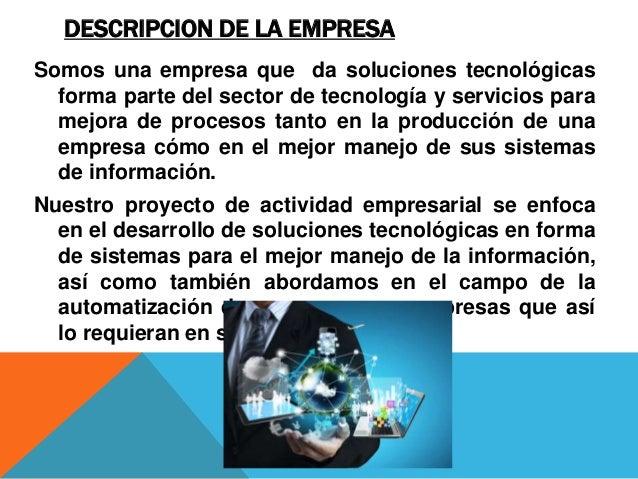 soluciones en tecnolog u00eda y procesos de ingenier u00eda sa
