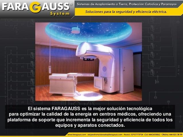 El sistema FARAGAUSS es la mejor solución tecnológica para optimizar la calidad de la energía en centros médicos, ofrecien...
