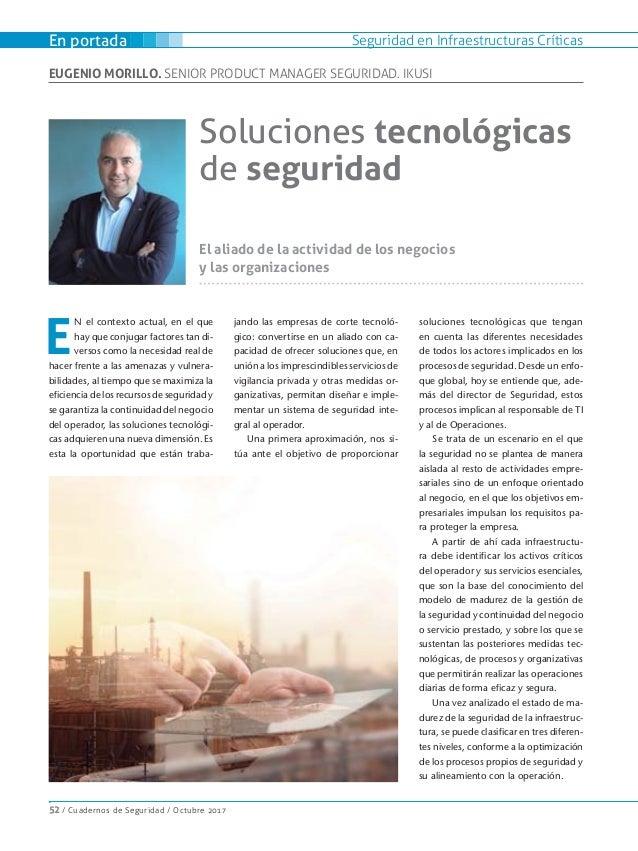 Soluciones tecnológicas de seguridad Slide 2