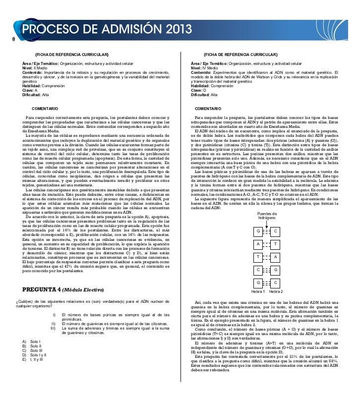 DEMRE: [Respuestas 1] Ciencias PSU 2011