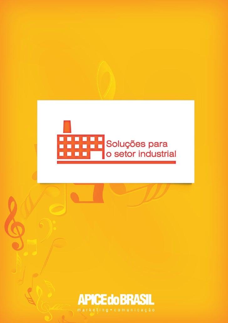 Soluções para o setor industrial