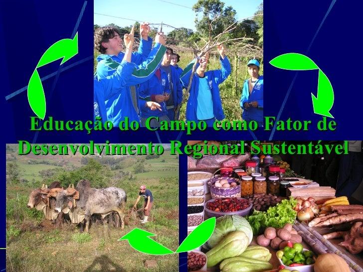 Educação do Campo como Fator deDesenvolvimento Regional Sustentável