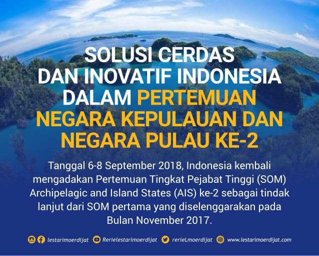 Solusi Cerdas Negara Kepulauan