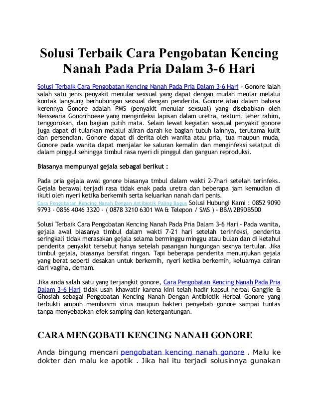 Solusi Terbaik Cara Pengobatan Kencing Nanah Pada Pria Dalam 3-6 Hari Solusi Terbaik Cara Pengobatan Kencing Nanah Pada Pr...