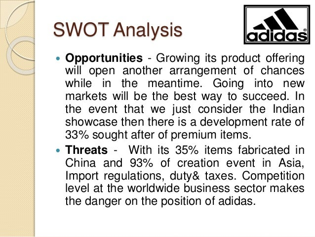 internationalization strategy of adidas Executive summary: the purpose of this assignment is to learn about strategy and strategic management by comparing the strategies of two companies from the same industry.
