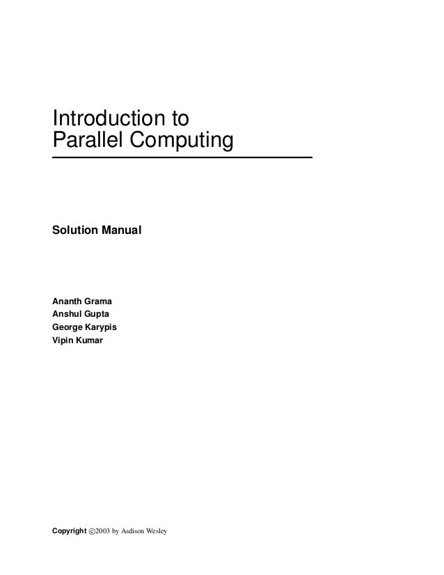 solution 1 rh slideshare net an introduction to parallel programming pacheco solution manual pdf an introduction to parallel programming pacheco solution manual