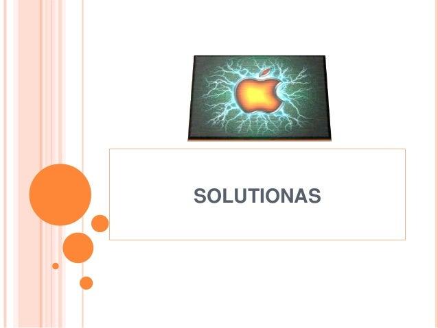 SOLUTIONAS