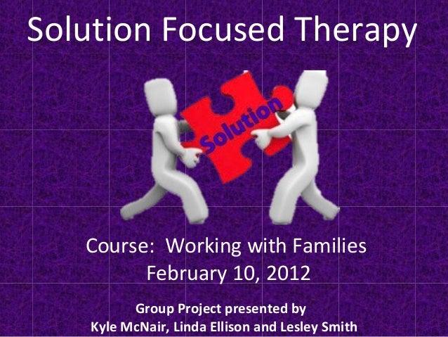 brief therapy focused solution development pdf