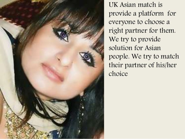 Uk asian dating solutions