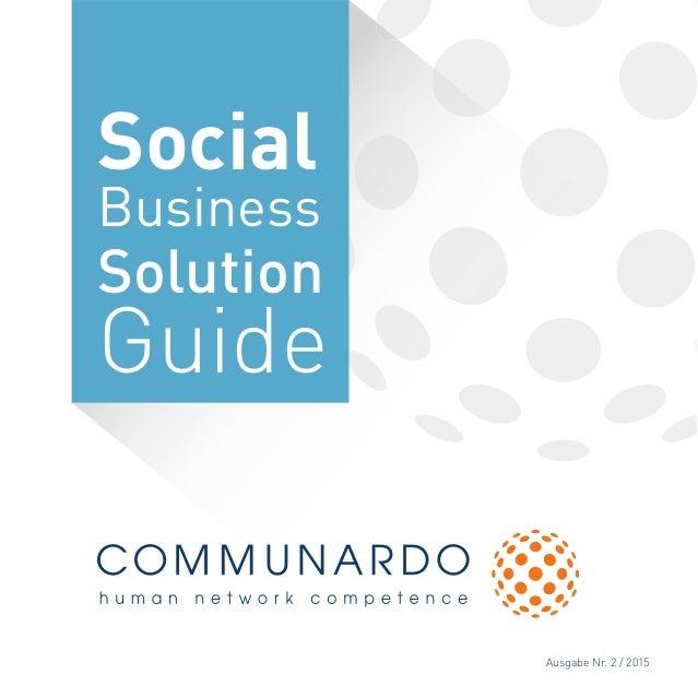 Ausgabe Nr. 2 / 2015 Social Business Solution Guide