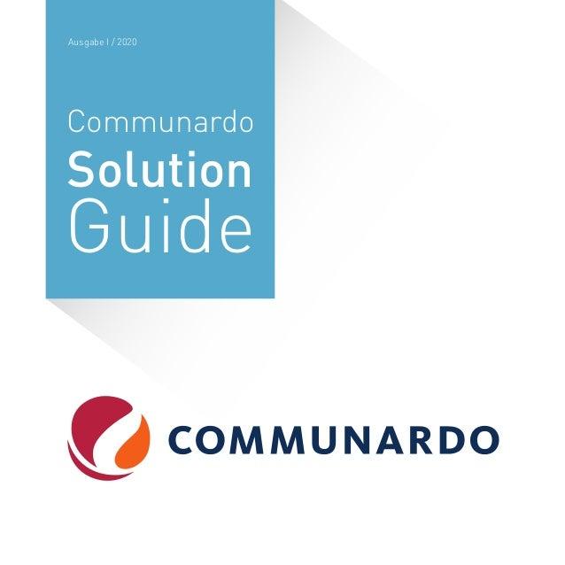 Communardo Solution Guide Ausgabe I / 2020