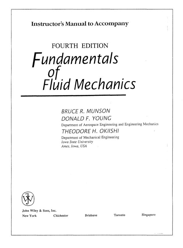 solution manual fundamentals of fluid mechanics 4th edition rh slideshare net engineering fluid mechanics 10th edition solutions manual pdf engineering fluid mechanics 10th edition solutions manual pdf free