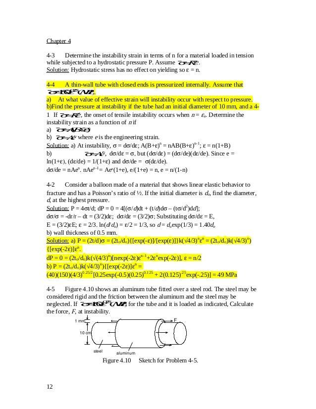 solution manual 4 6 rh slideshare net Physical Metallurgy Physical Metallurgy