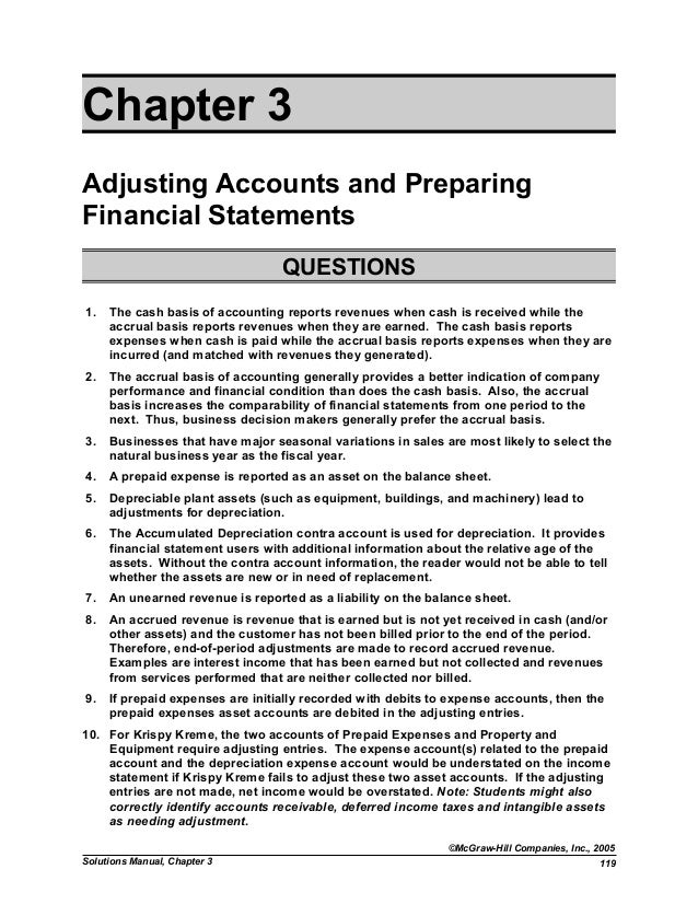 solution manual chapter 3 fap rh slideshare net Intermediate Accounting Spiceland Intermediate Accounting Beli