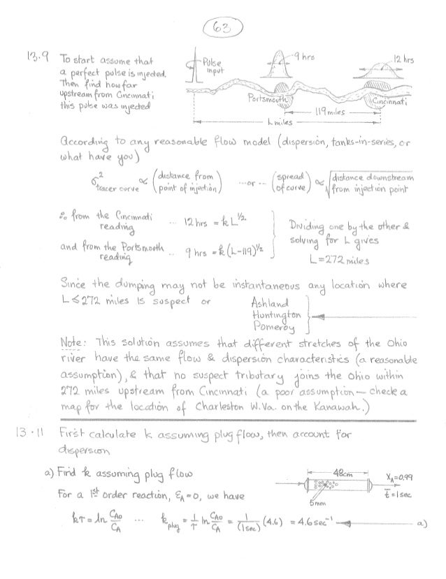 Chemical Reaction Engineering Levenspiel Pdf
