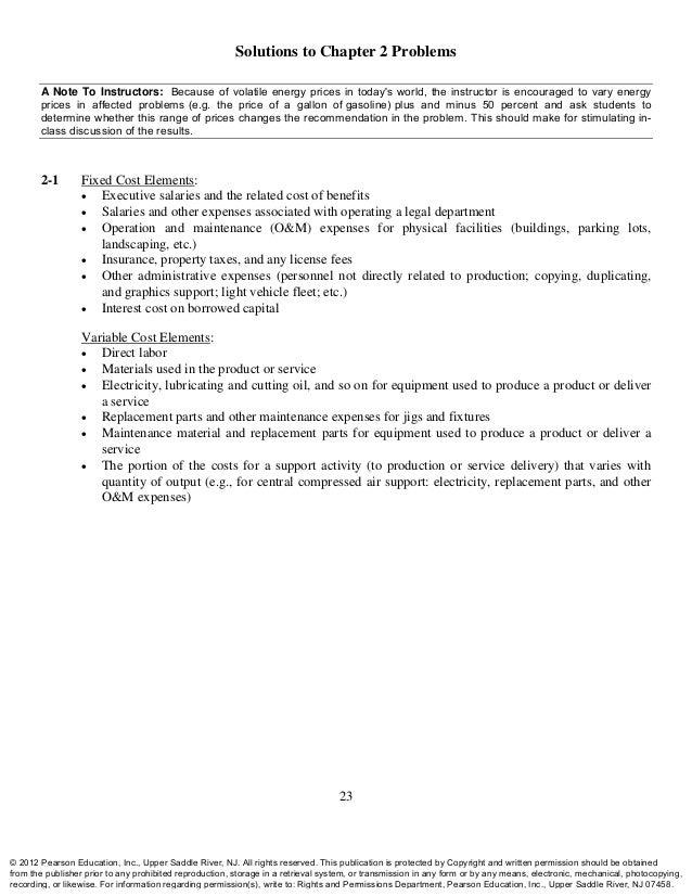 engineering economy solution manual sullivan 15th ed rh slideshare net Engineering Economybvmodels Engineering Apps Problem