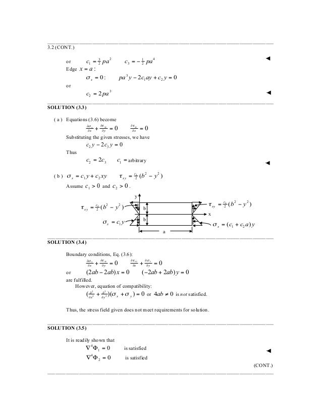solution manual for advanced mechanics of materials and applied elast rh slideshare net Calculus Student Solutions Manual PDF Student Solutions Manual