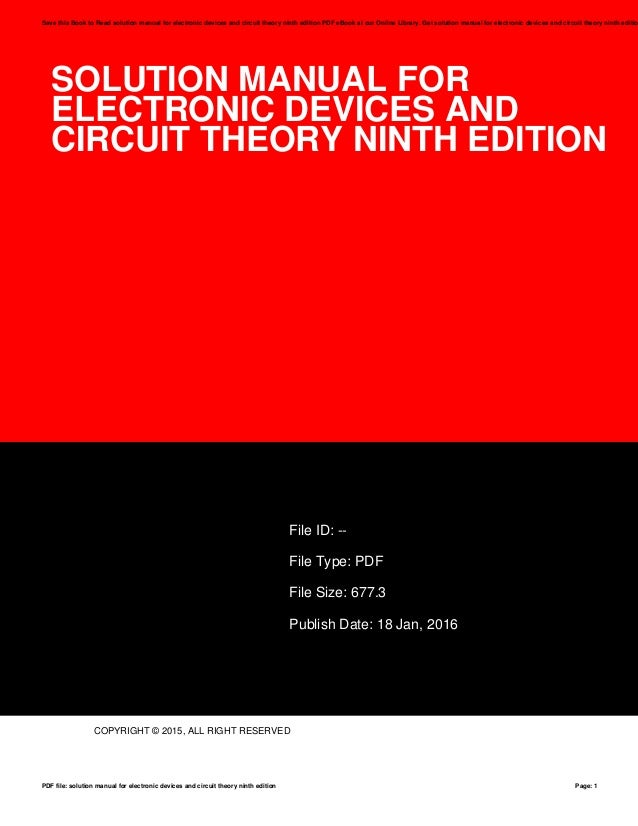 Basic arrhythmias 7th edition ebook 4th edition ebook pdf rh ineasysteps array electronic devices and circuit theory solution manual ebook rh electronic devices and circuit theory fandeluxe Choice Image