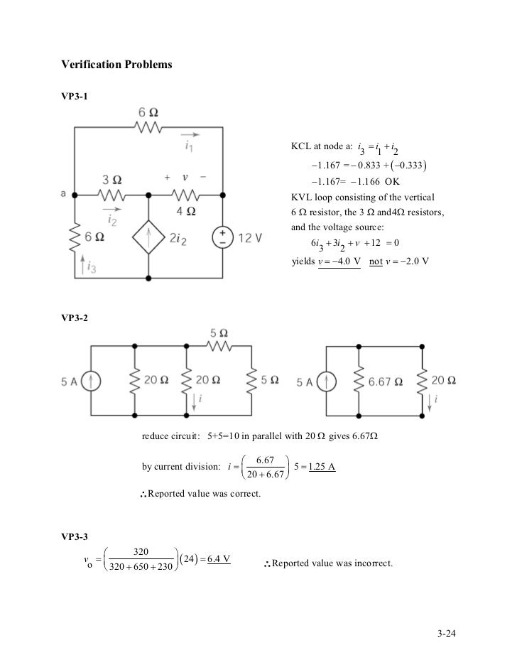 solution manual for introduction to electric circuitsCircuit Shown In Figure 3201 The Circuit Has Two Starting Resistor #2