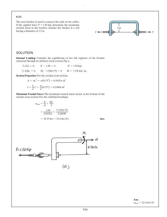 MECHANICS OF MATERIALS 7TH EDITION HIBBELER PDF