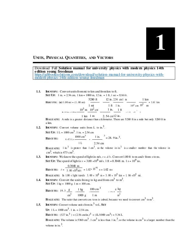 University Physics manual solution by harris Benson