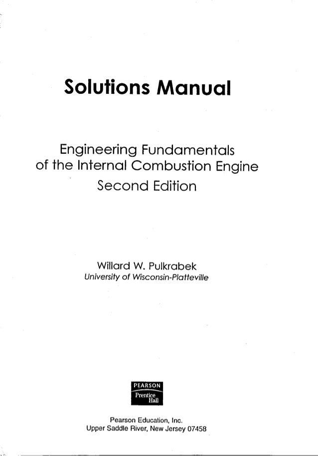 Internal Combustion Engine Fundamentals Heywood Pdf