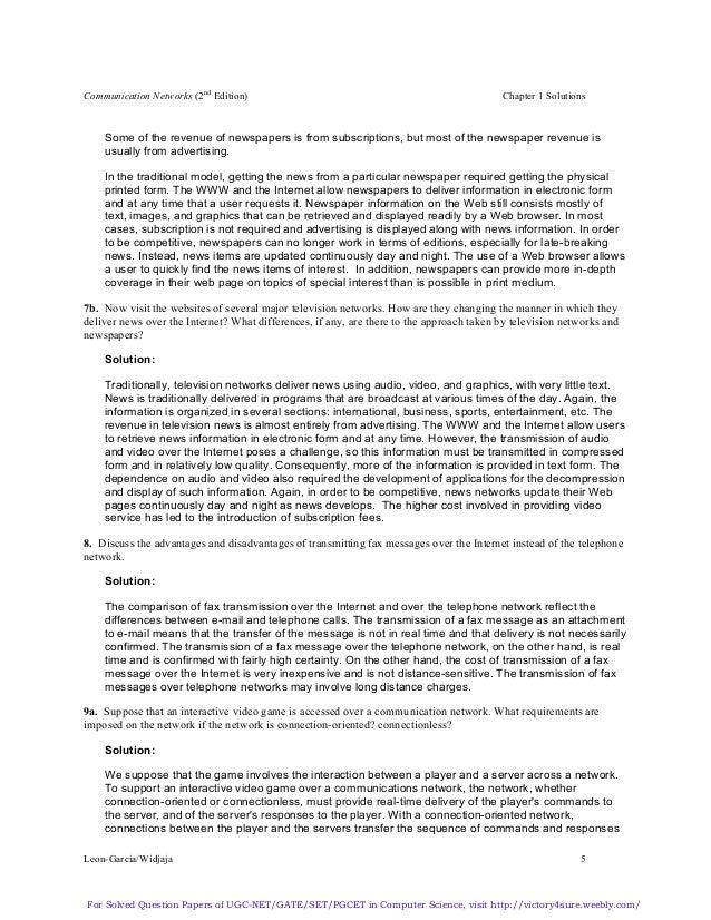 Computer Communication Networks By Leon Garcia Pdf