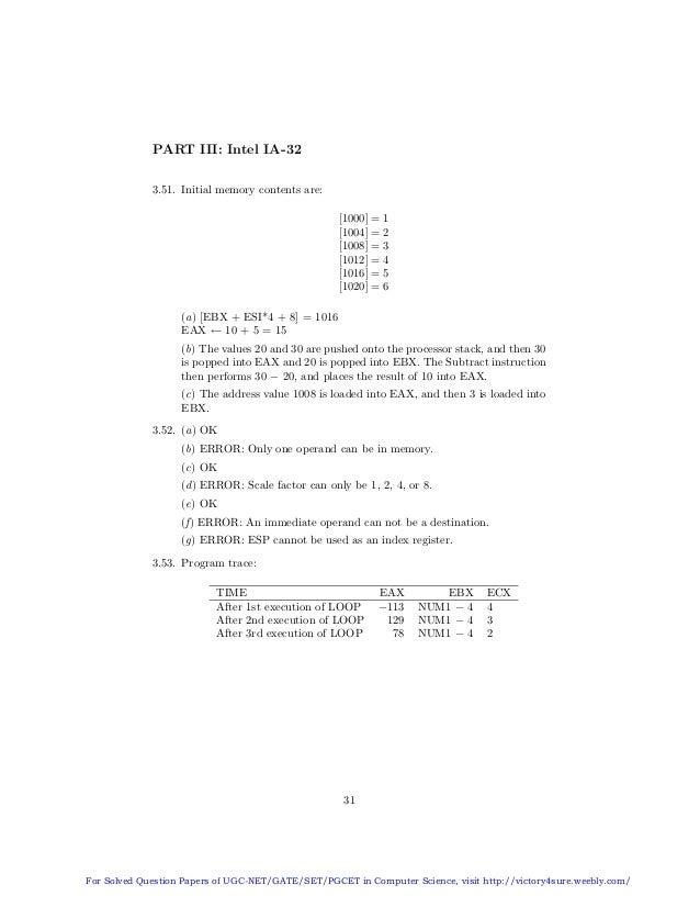 solution manual of computer organization by carl hamacher zvonko vra rh slideshare net computer organization and design solution manual 4th edition revised computer organization and design solution manual pdf