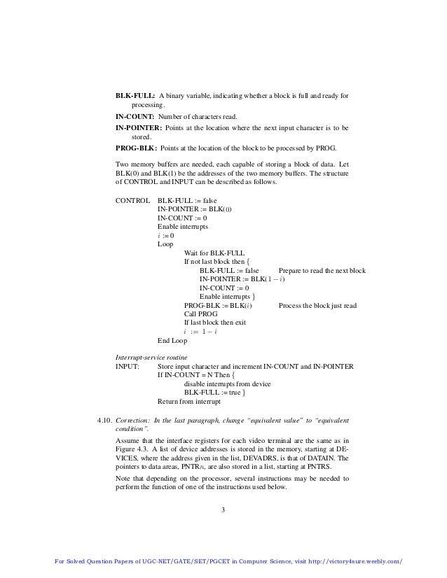 Solution Manual Of Computer Organization By Carl Hamacher Zvonko Vra